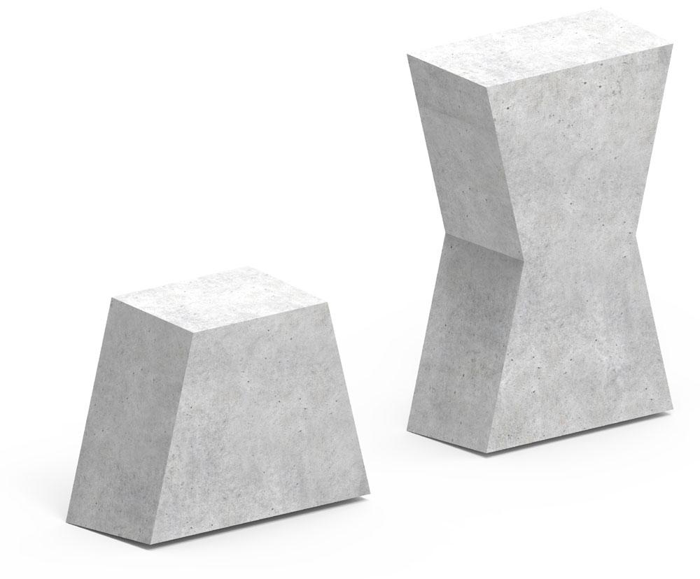 dyble betonowe