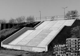 Prefabrykowane biegi schodowe